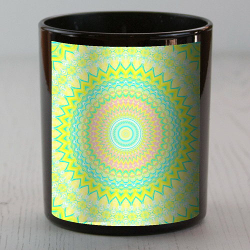 Summer Mandala 3 - Candle by Kaleiope Studio