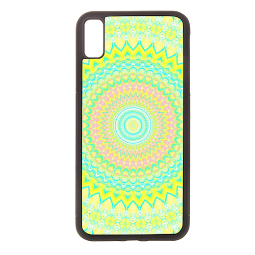 Summer Mandala 3 - Rubber phone case by Kaleiope Studio