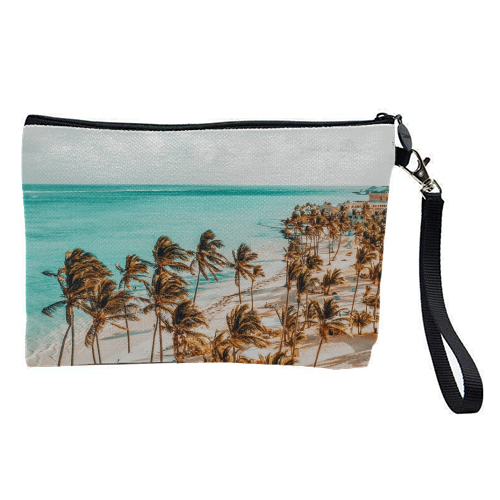 Beach Life - pretty makeup bag by Uma Prabhakar Gokhale