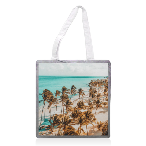 Beach Life - printed tote bag by Uma Prabhakar Gokhale