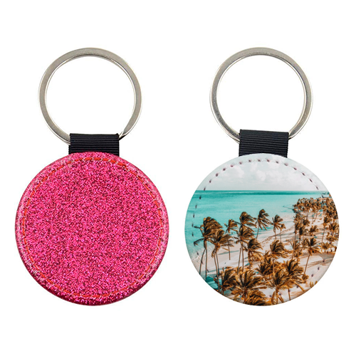Beach Life - personalised picture keyring by Uma Prabhakar Gokhale