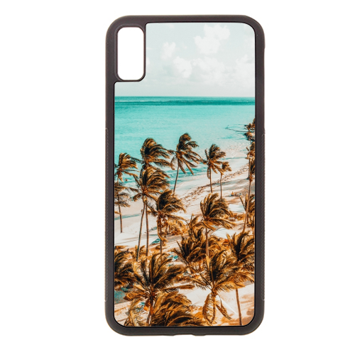 Beach Life - Rubber phone case by Uma Prabhakar Gokhale