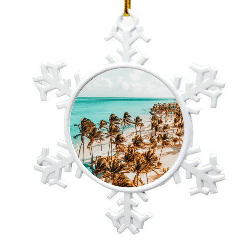 Beach Life - snowflake decoration by Uma Prabhakar Gokhale