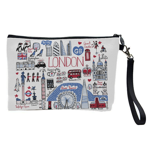 London - pretty makeup bag by Julia Gash