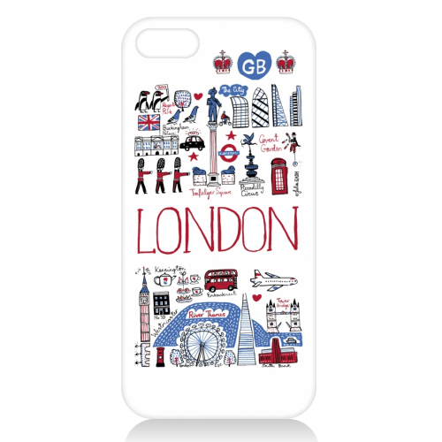 London - unique phone case by Julia Gash