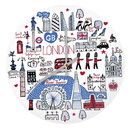 London - creative clock by Julia Gash
