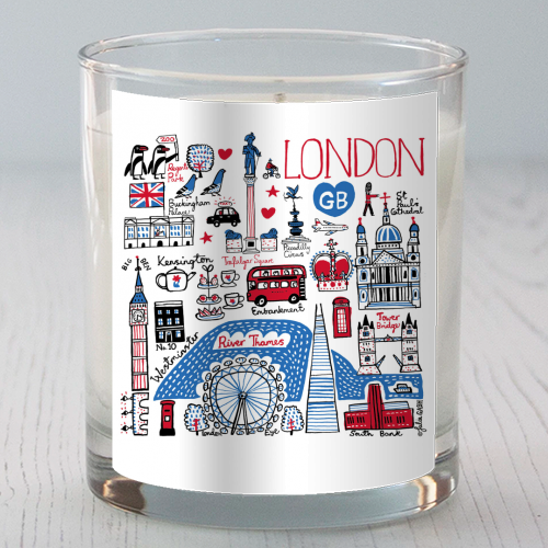 London - Candle by Julia Gash