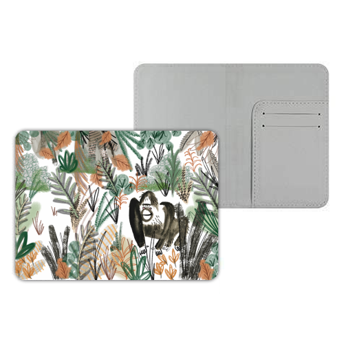 Monkeying Around - designer passport cover by Pen and Gwyn