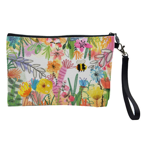 Busy Bee - pretty makeup bag by Pen and Gwyn