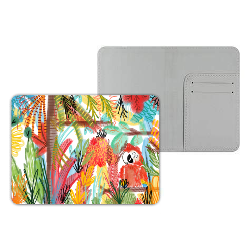 Pretty Polly - designer passport cover by Pen and Gwyn