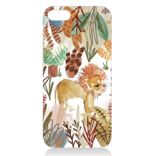 Lions Den - unique phone case by Pen and Gwyn