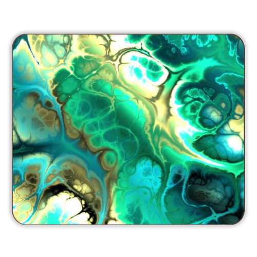 Fractal Marble - photo placemat by Kaleiope Studio