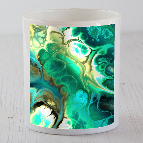 Fractal Marble - Candle by Kaleiope Studio