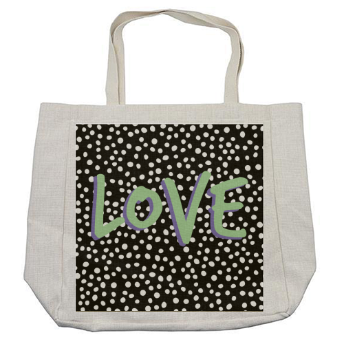LOVE Print - cool beach bag by The 13 Prints