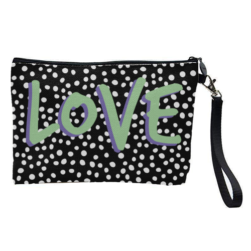 LOVE Print - pretty makeup bag by The 13 Prints