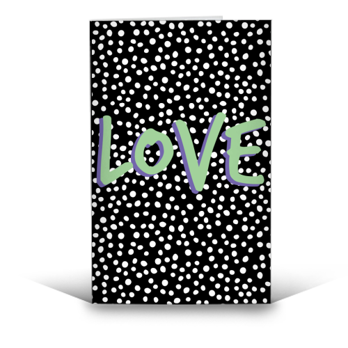 LOVE Print - funny greeting card by The 13 Prints