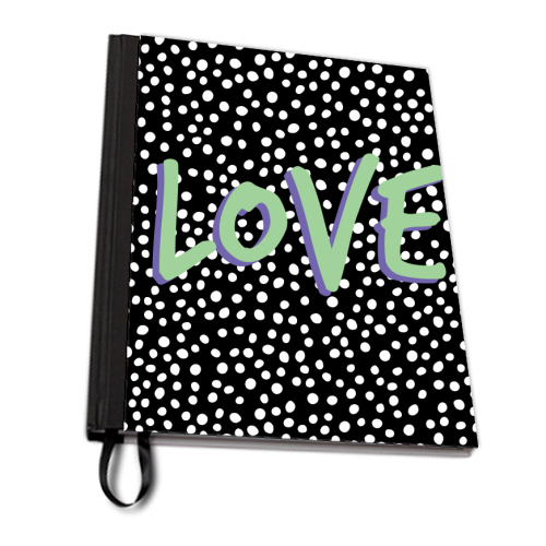 LOVE Print - designed notebook by The 13 Prints