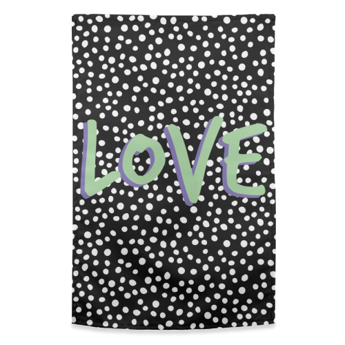 LOVE Print - funny tea towel by The 13 Prints