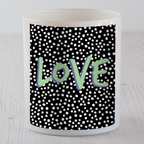 LOVE Print - Candle by The 13 Prints