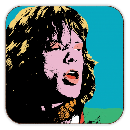 Mick - personalised drink coaster by Wallace Elizabeth