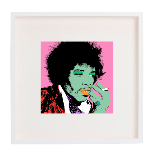 Jimi - printed framed picture by Wallace Elizabeth