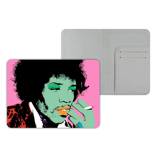 Jimi - designer passport cover by Wallace Elizabeth