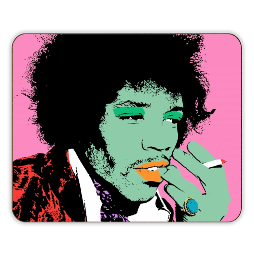 Jimi - photo placemat by Wallace Elizabeth