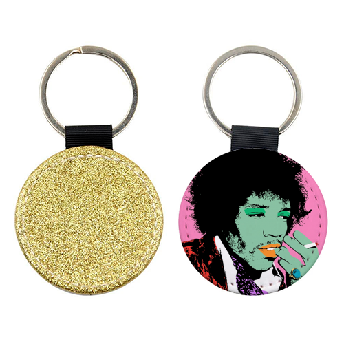 Jimi - personalised picture keyring by Wallace Elizabeth