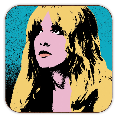 Stevie - personalised drink coaster by Wallace Elizabeth