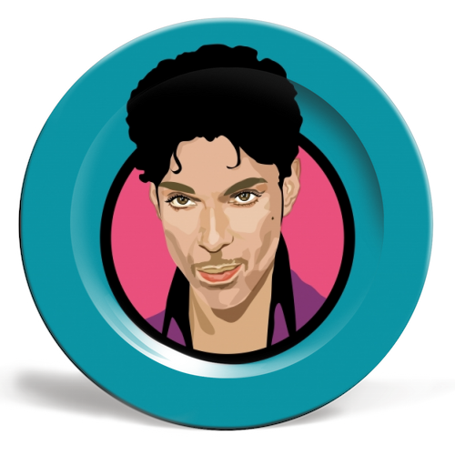 Prince - ceramic dinner plate by SABI KOZ