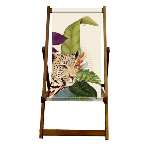 The Jaguar - canvas deck chair by Fatpings_studio