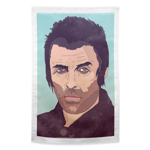 Liam Gallagher. - funny tea towel by Danny Welch