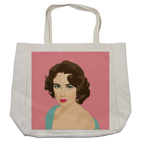 Elizabeth Taylor - cool beach bag by SABI KOZ