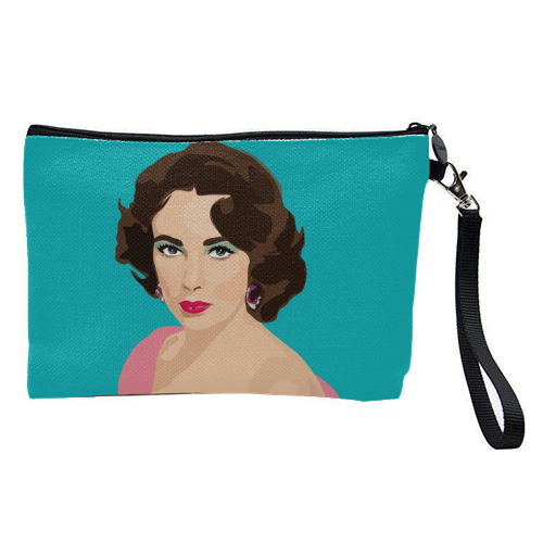 Elizabeth Taylor - pretty makeup bag by SABI KOZ