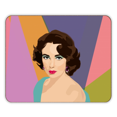 Elizabeth Taylor - photo placemat by SABI KOZ