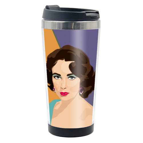 Elizabeth Taylor - travel water bottle by SABI KOZ