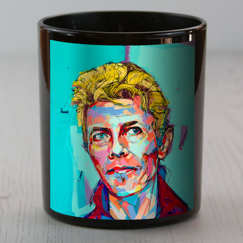 Hopeful Bowie - Candle by Laura Selevos