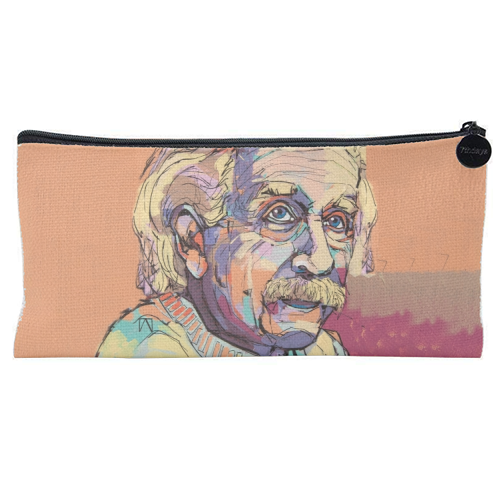 Humble Albert - unique pencil case by Laura Selevos