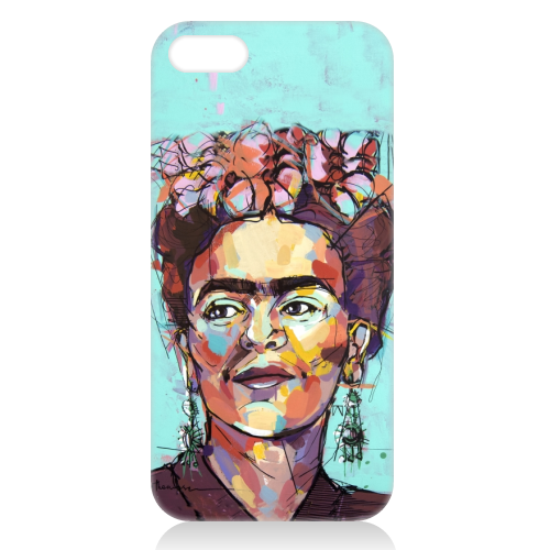 Sassy Frida - unique phone case by Laura Selevos