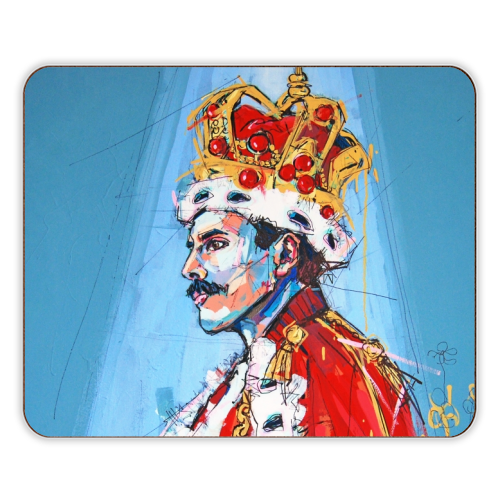 Royal Freddie - photo placemat by Laura Selevos