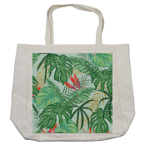 The Tropics III - cool beach bag by Uma Prabhakar Gokhale