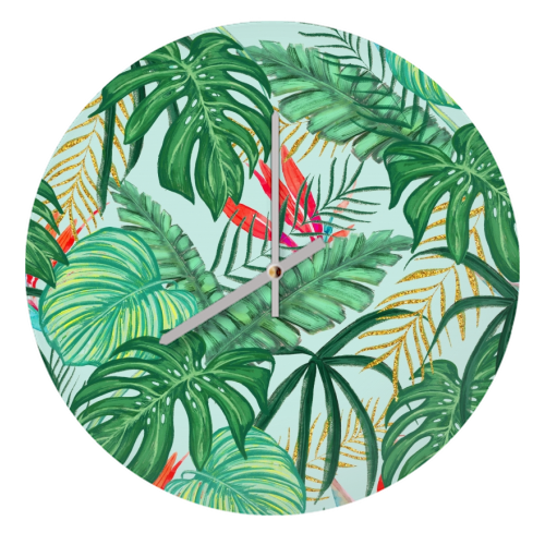 The Tropics III - creative clock by Uma Prabhakar Gokhale
