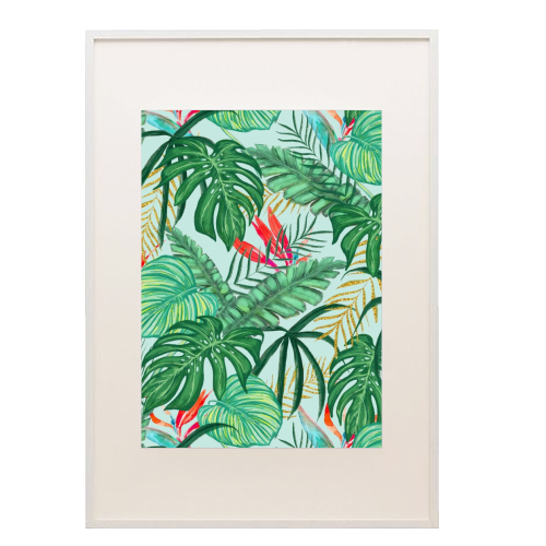 The Tropics III - printed framed picture by Uma Prabhakar Gokhale