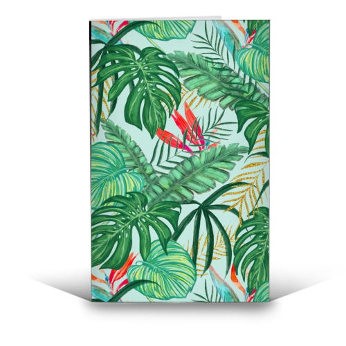 The Tropics III - funny greeting card by Uma Prabhakar Gokhale