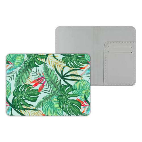The Tropics III - designer passport cover by Uma Prabhakar Gokhale
