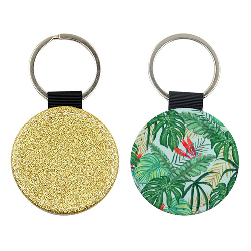 The Tropics III - personalised picture keyring by Uma Prabhakar Gokhale