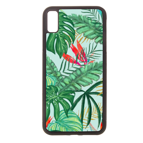 The Tropics III - Rubber phone case by Uma Prabhakar Gokhale