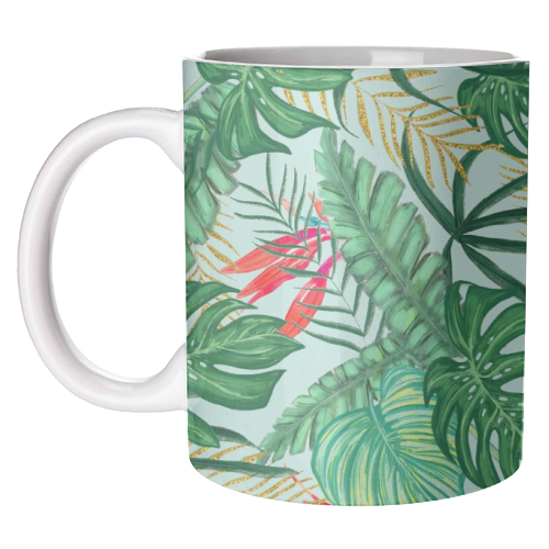 The Tropics III - unique mug by Uma Prabhakar Gokhale