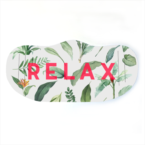 Relax - washable face mask by The 13 Prints