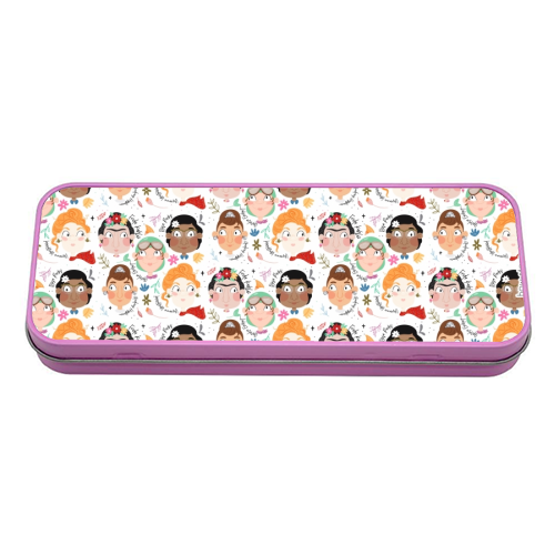 The Greats Femme - #01 - tin pencil case by Tess Shearer